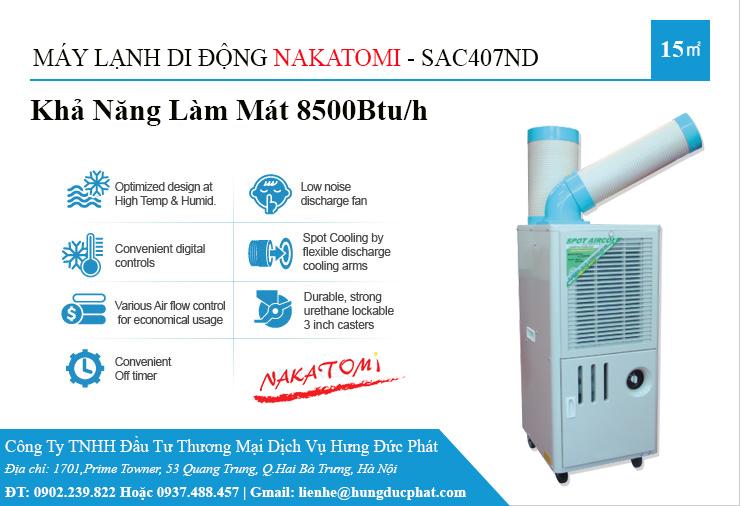 may lanh di dong cong nghiep SAC 407ND