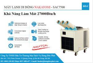 may lanh di dong cong nghiep sac 7500